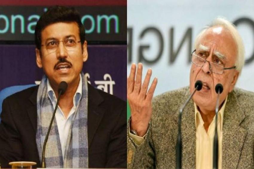 'Why Don't You Go To Balakot And Check', Rajyavardhan Rathore Tells Kapil Sibal For Questioning IAF Strike' Efficacy