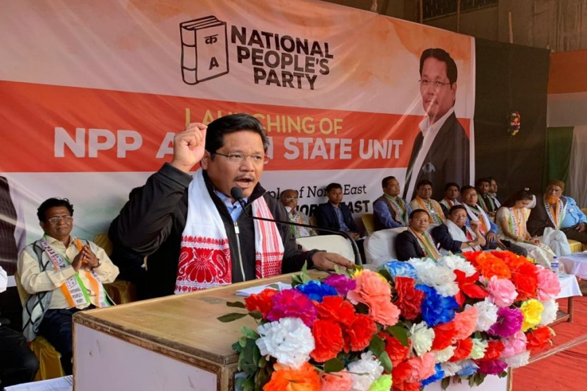 Conrad Sangma's NPP Starts Party Unit In Assam