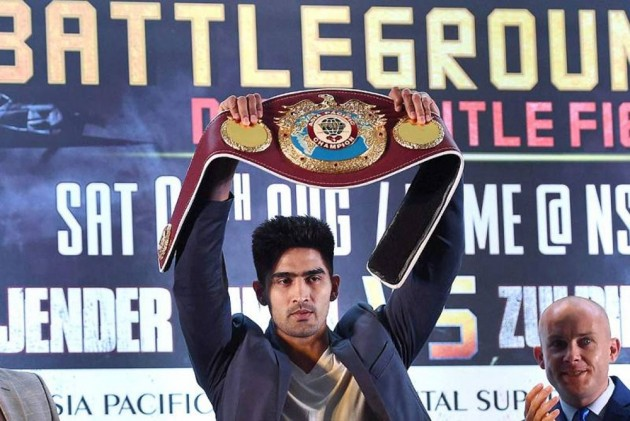 Vijender Singh Relocates Training Base To Los Angeles Ahead Of USA Debut