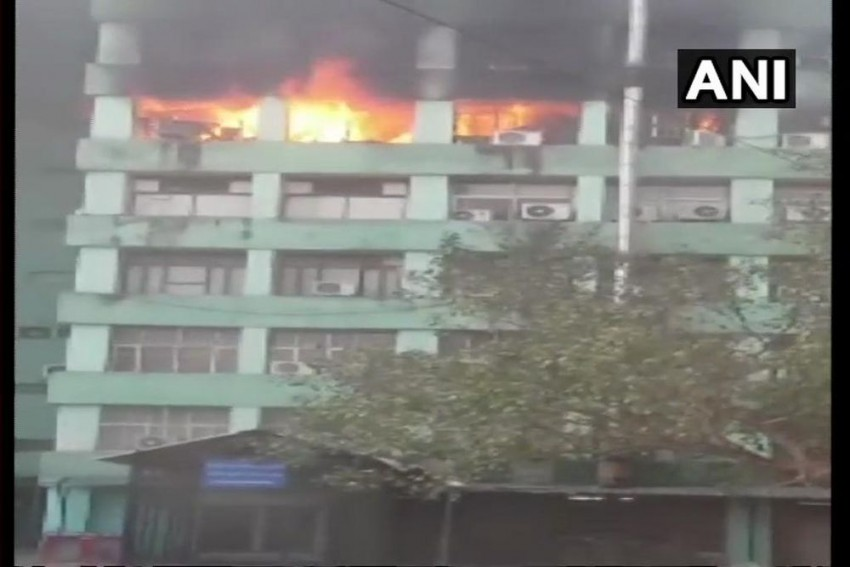 CISF Sub-Inspector Dies In Fire At CGO Complex In Delhi