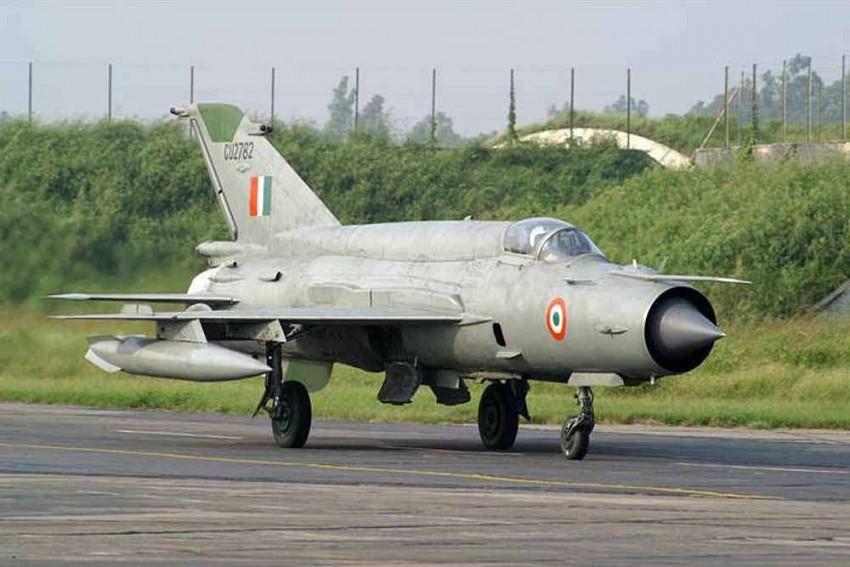 IAF Plane Crashes In Rajasthan's Bikaner, Pilot Ejects Safely