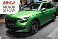 India-bound Skoda Kamiq Showcased At Geneva Motor Show 2019