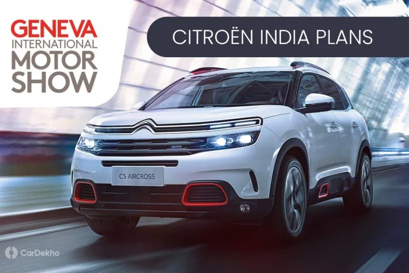 Citroen To Launch One New Car In India Every Year From 2021