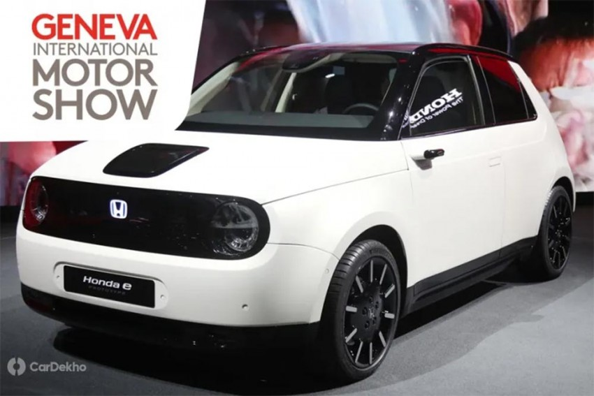 Honda e Prototype EV Unveiled At 2019 Geneva Motor Show