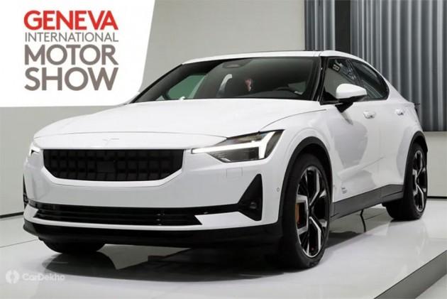 Fully Electric Polestar 2 Sedan Showcased At Geneva