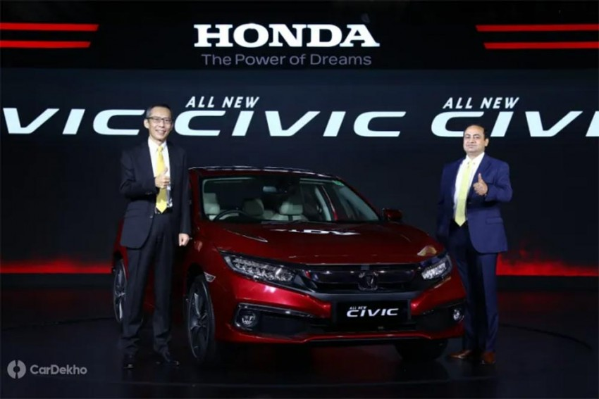 2019 Honda Civic Launched In India; Price Starts At Rs 17 ...