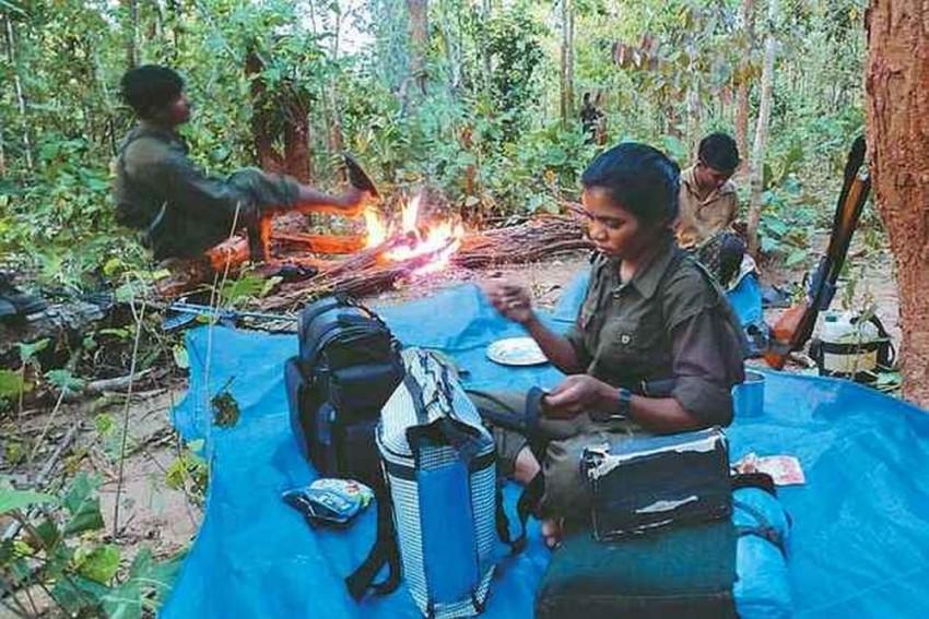 Hardcore Female Maoist Carrying Reward Of Rs 5 Lakh Surrenders