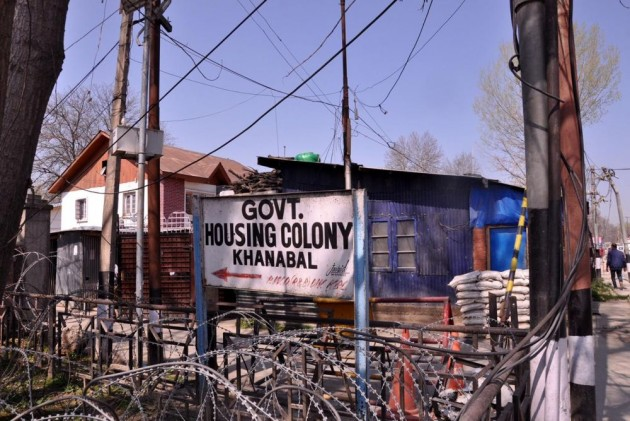 All Political Activities In South Kashmir Are At Govt Housing Colony Khanabal