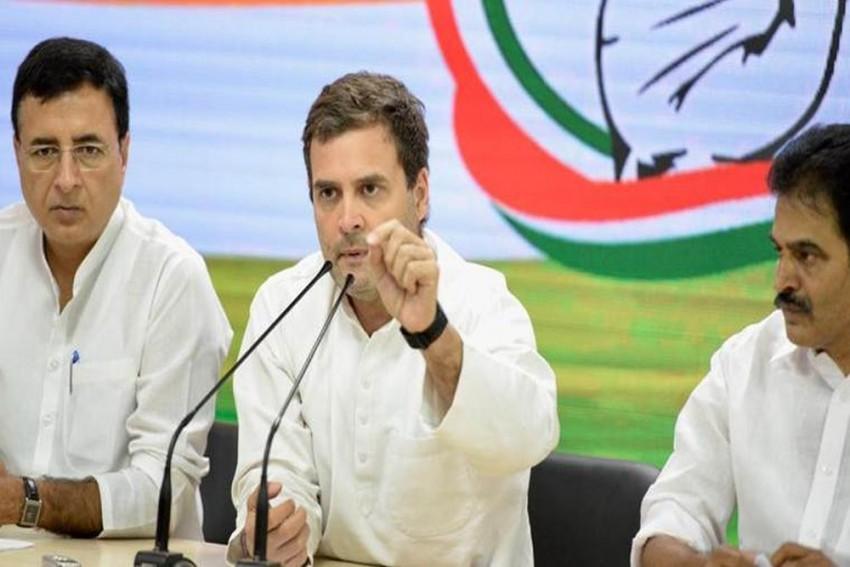 Only Congress Can Fight Narendra Modi, Says Rahul Gandhi In Telangana