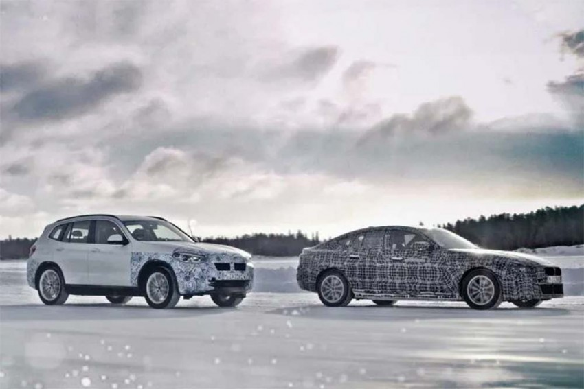 BMW Previews Trio Of Upcoming EVs Testing In The Arctic