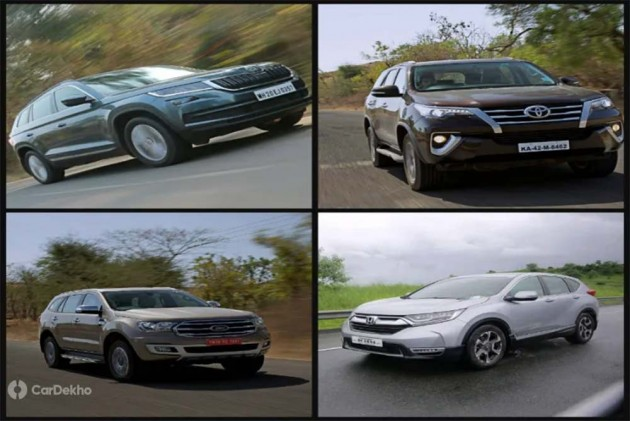 Cars In Demand: Toyota Fortuner, Ford Endeavour Among