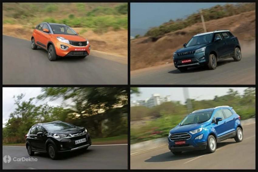 Mahindra XUV300 Vs Tata Nexon Vs Ford EcoSport Vs Honda WR-V (Petrol): Real-world Performance Comparison