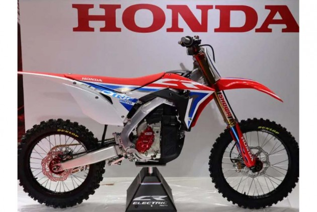 Honda's Off-Roader, The CRF250R, Gets An Electric Heart!