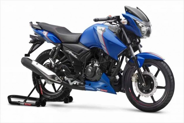 TVS Apache RTR 160 And RTR 160 4V Launched With ABS