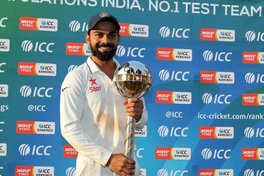 Virat Kohli Is Jubilant As India Retain Test Championship Mace For The Third Consecutive Year