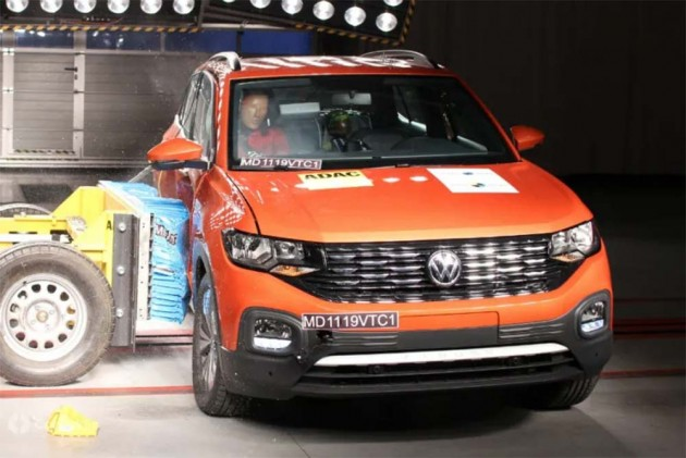 VW T-Cross SUV Scores 5-Star Rating In Latin NCAP Tests