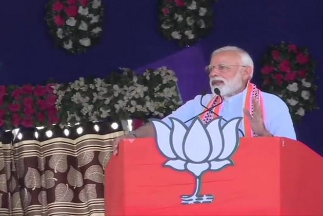 In Junagadh, PM Modi Accuses Congress Of Looting Money Of Poor