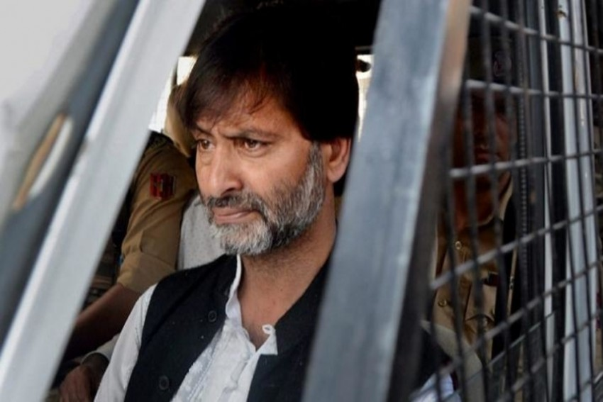 Delhi Court Sends JKLF Chief Yasin Malik To NIA Custody Till April 22