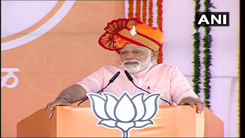 Choose Between 'Honest Chowkidar' And 'Corrupt Naamdar': PM Modi