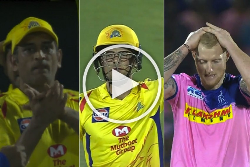 IPL 2019, RR Vs CSK: Mitchell Santner Does A MS Dhoni By Finishing Off With A Six In Jaipur Thriller – WATCH