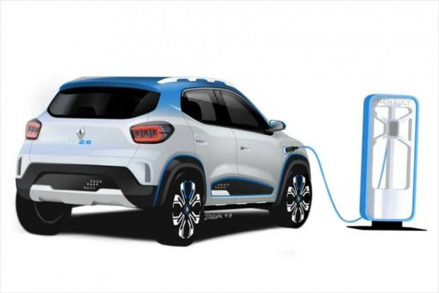 Renault Kwid EV To Debut In China On April 16