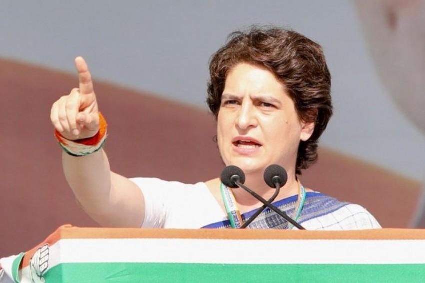 Congress General Secretary Priyanka Gandhi Attacks BJP For Instructor's Suicide In UP