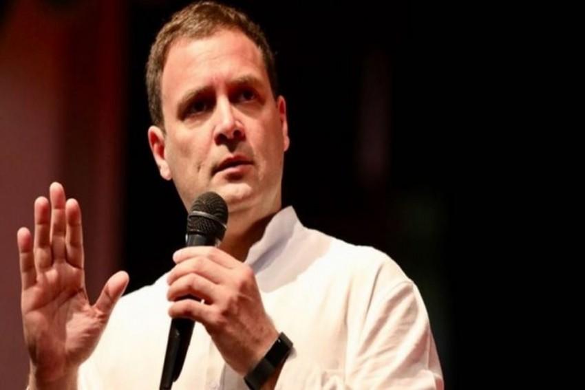 Rahul Gandhi Attacks PM Narendra Modi, Says 100 Per Cent Chowkidar Is A Thief