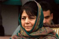 Stones Pelted At Mehbooba Mufti's Motorcade In Jammu And Kashmir's Anantnag