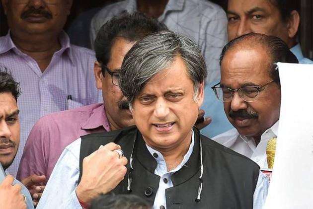 Shashi Tharoor Injured While Performing Rituals At Kerala Temple On Vishu