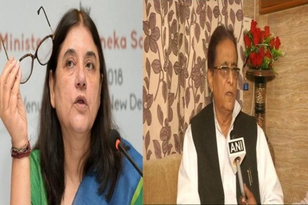EC Bans Azam Khan And Maneka Gandhi From Campaigning For 72 Hours And 48 Hours Respectively