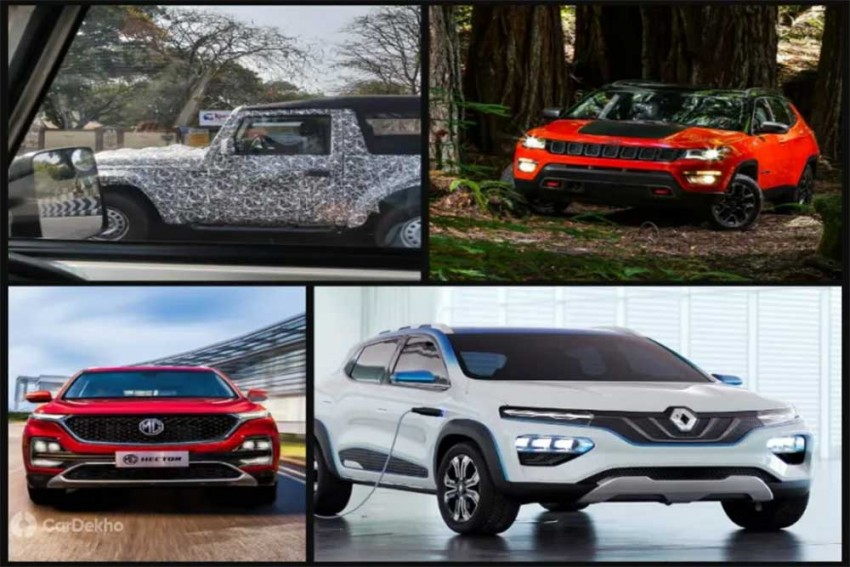 The Weekly Wrap-up: Production-spec Tata Altroz Spied; Renault Kwid EV Global Debut, MG (Morris Garages) Hector and Jeep Compass Trailhawk Launch Dates Confirmed