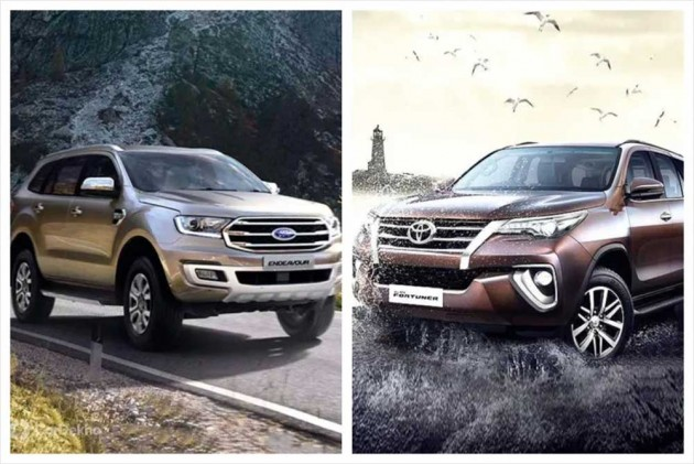 Cars In Demand: Toyota Fortuner, Ford Endeavour Top Segment Sales In March 2019