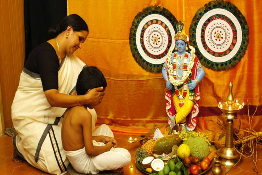 Hindus In Kerala Celebrate 'Vishu' To Usher In New Year