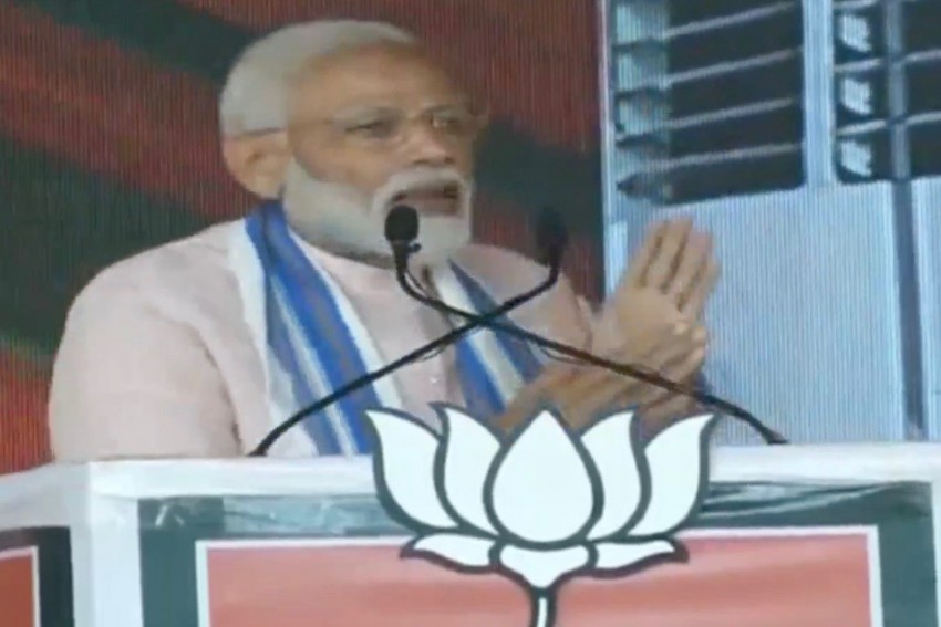 Your One Vote Made Surgical Strike, Balakot Air Strike Possible: PM Modi At Rally