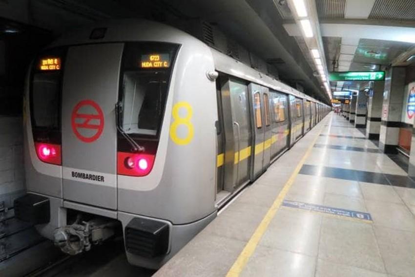 Delhi Woman Dragged On Platform As Saree Gets Stuck In Metro Door
