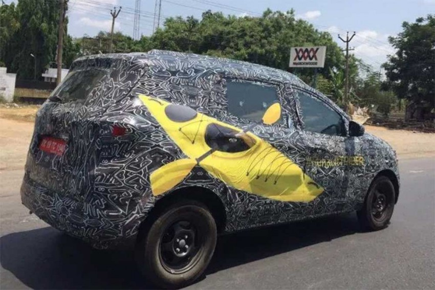 2019 Renault Triber Spied Testing Ahead Of Launch