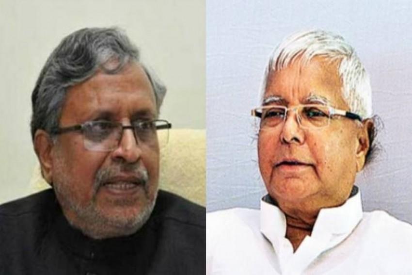 Lalu Yadav Met Arun Jaitley, Offered To Help Pull Down 'Mahagathbandhan' Govt, Alleges Bihar Dy CM