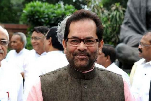 For '<em>Modi Ji Ki Sena</em>' Remark, Election Commission Lets Off Mukhtar Abbas Naqvi With A Warning