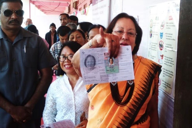 Manipur Governor, Chief Minister Biren Singh Jump Queue To Vote