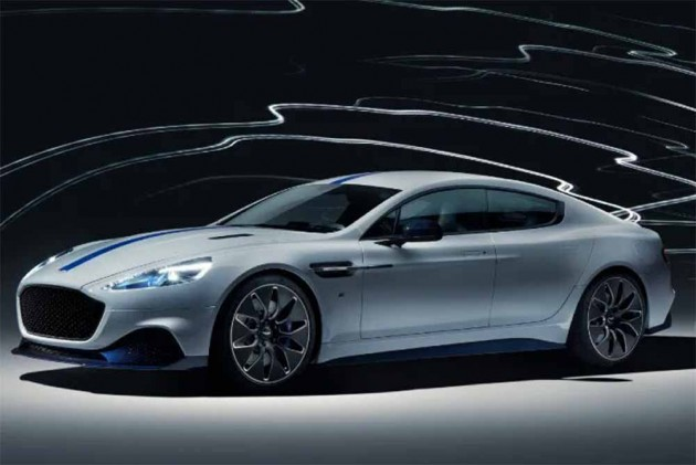 Aston Martin's Rapide E Makes Its Debut At Auto Shanghai 2019
