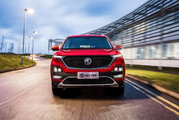 MG Hector Lower Variant Spied For The First Time Ahead of June 2019 Launch