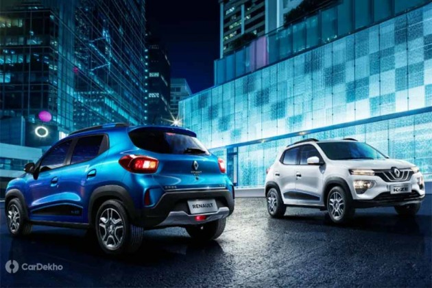 Renault Kwid-Based City K-ZE Electric Car Revealed; Might Come To India