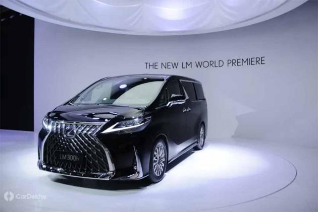 Lexus Reveals LM MPV At 2019 Shanghai Auto Show