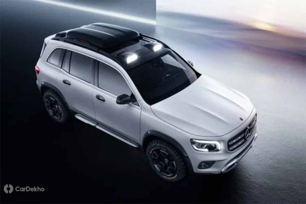 Mercedes-Benz Concept GLB SUV Revealed In China