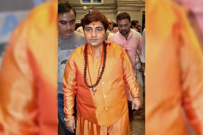 Sadhvi Pragya Says ATS Chief Hemant Karkare Died Because She 'Cursed' Him