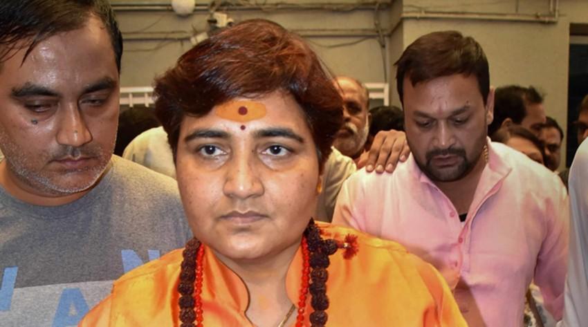 Sadhvi Pragya Breaks Down At BJP Meet, Recalls 'Torture' In Custody