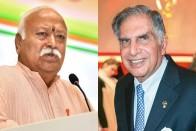 Ratan Tata Meets Mohan Bhagwat At RSS Headquarters In Nagpur