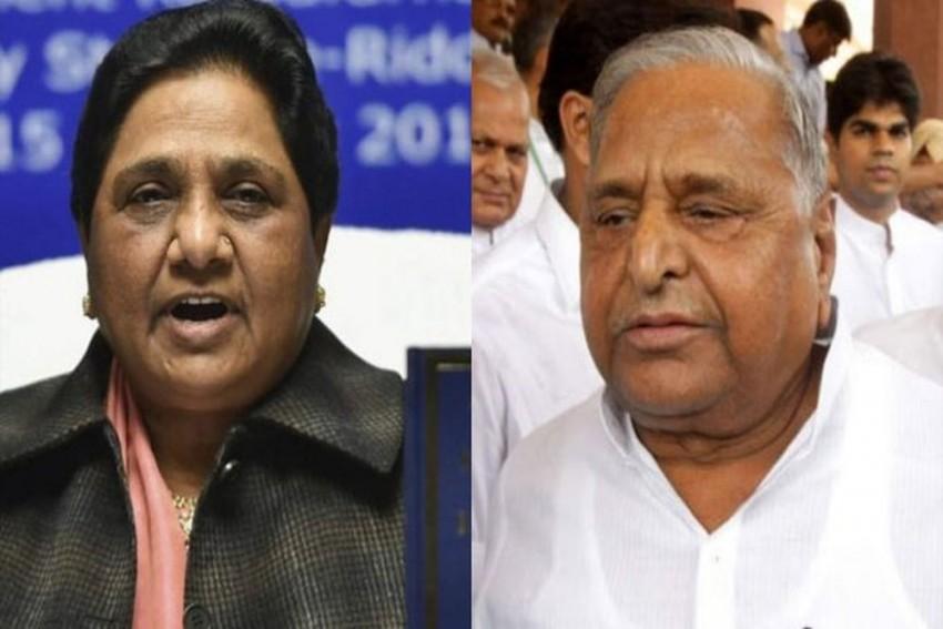 Once Arch-Rivals, Mulayam, Mayawati Share Stage At Mainpuri Rally