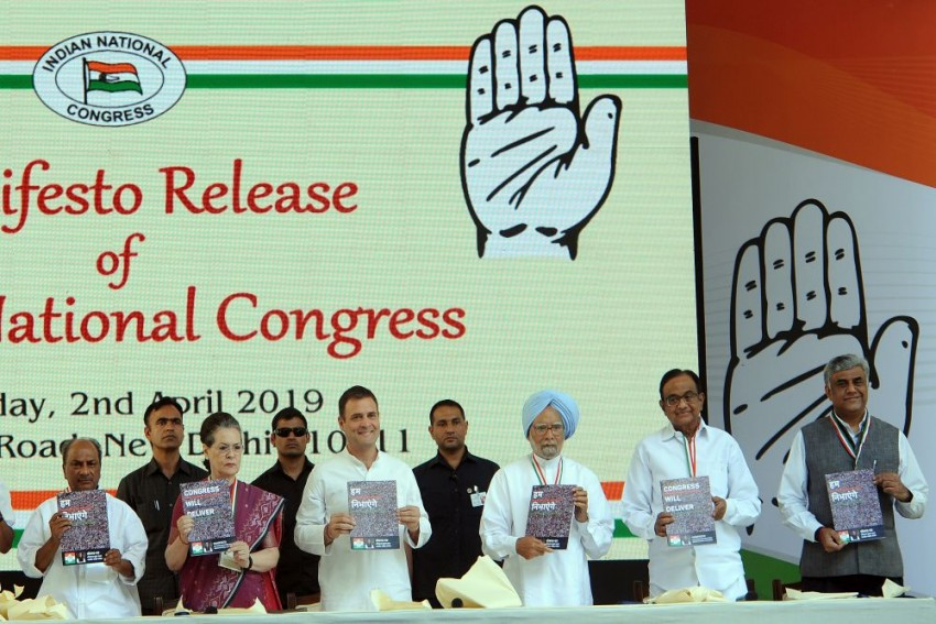 Congress Manifesto: Big Push For Judicial Reforms, Review Of Sedition, Defamation Laws