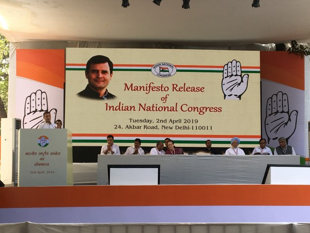 In Its Manifesto, Congress Proposes NYAY Scheme, 'Kisan Budget', Review Of AFSPA